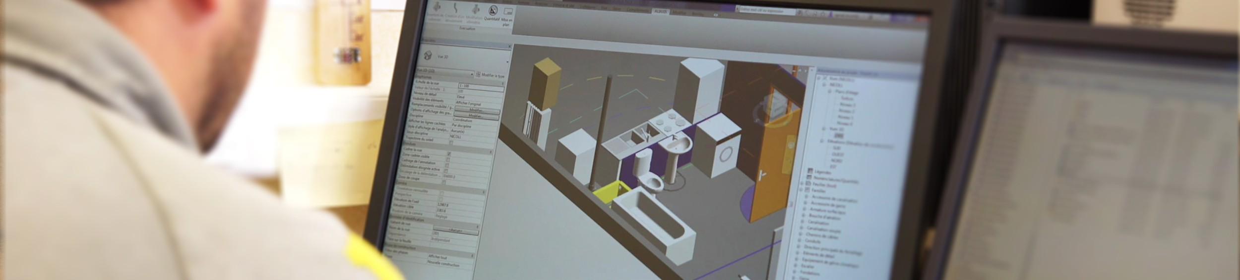 mod lisation 3d et bim nicoll. Black Bedroom Furniture Sets. Home Design Ideas