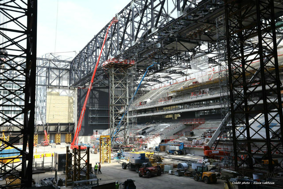 U Arena - photo chantier 1