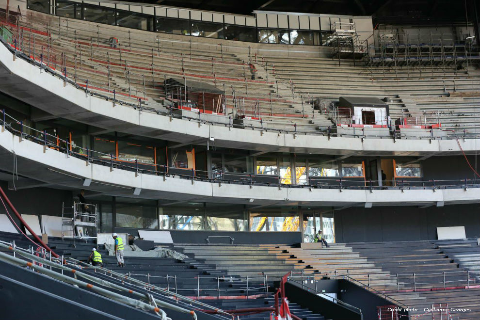 U Arena - photo chantier 2