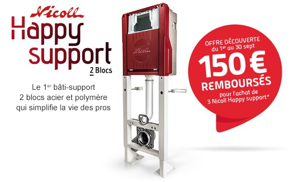 Nicoll vous rembourse 150€