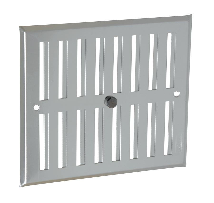 grille de ventilation aluminium visser fermeture sans moustiquaire nicoll. Black Bedroom Furniture Sets. Home Design Ideas