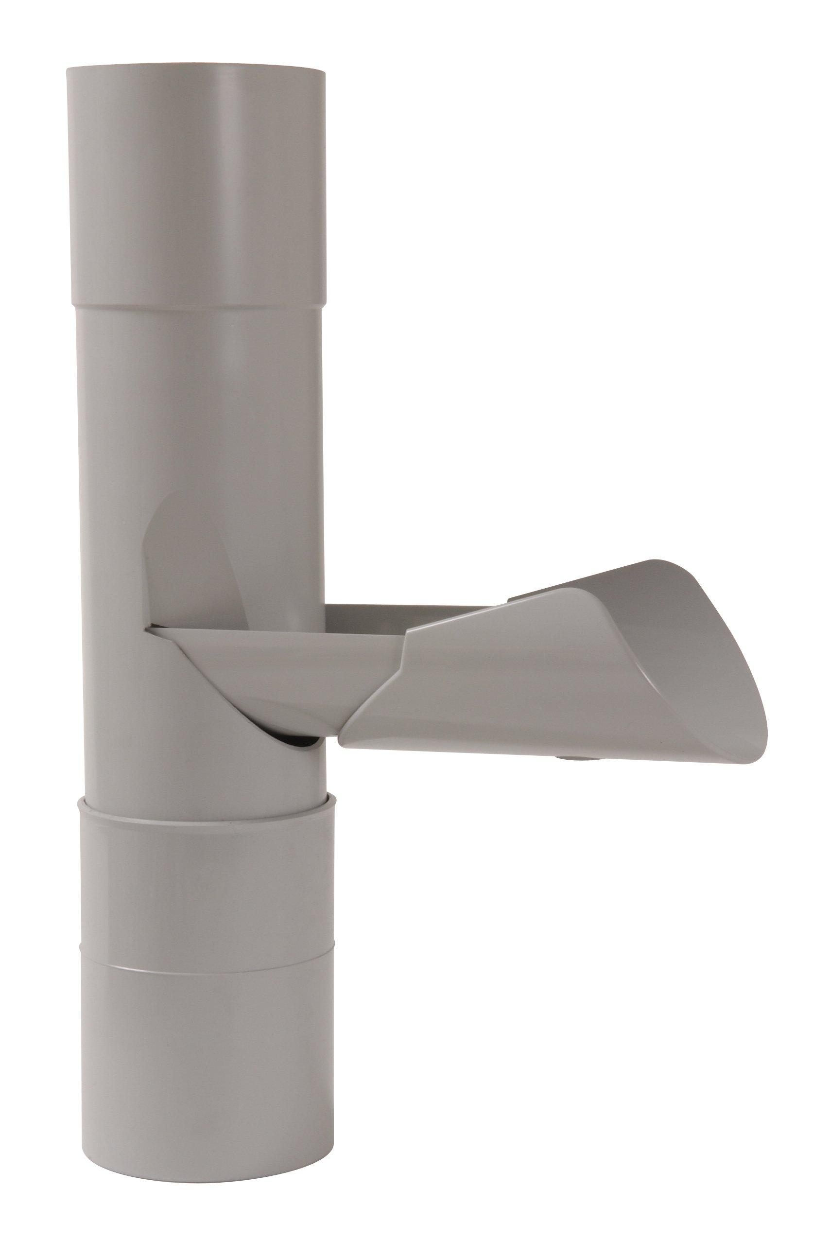 Récupérateur Ep Pour Tube De Descente Cylindrique ø 100 Nicoll