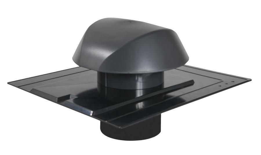 chapeau de ventilation avec platine ardoise atemax nicoll. Black Bedroom Furniture Sets. Home Design Ideas