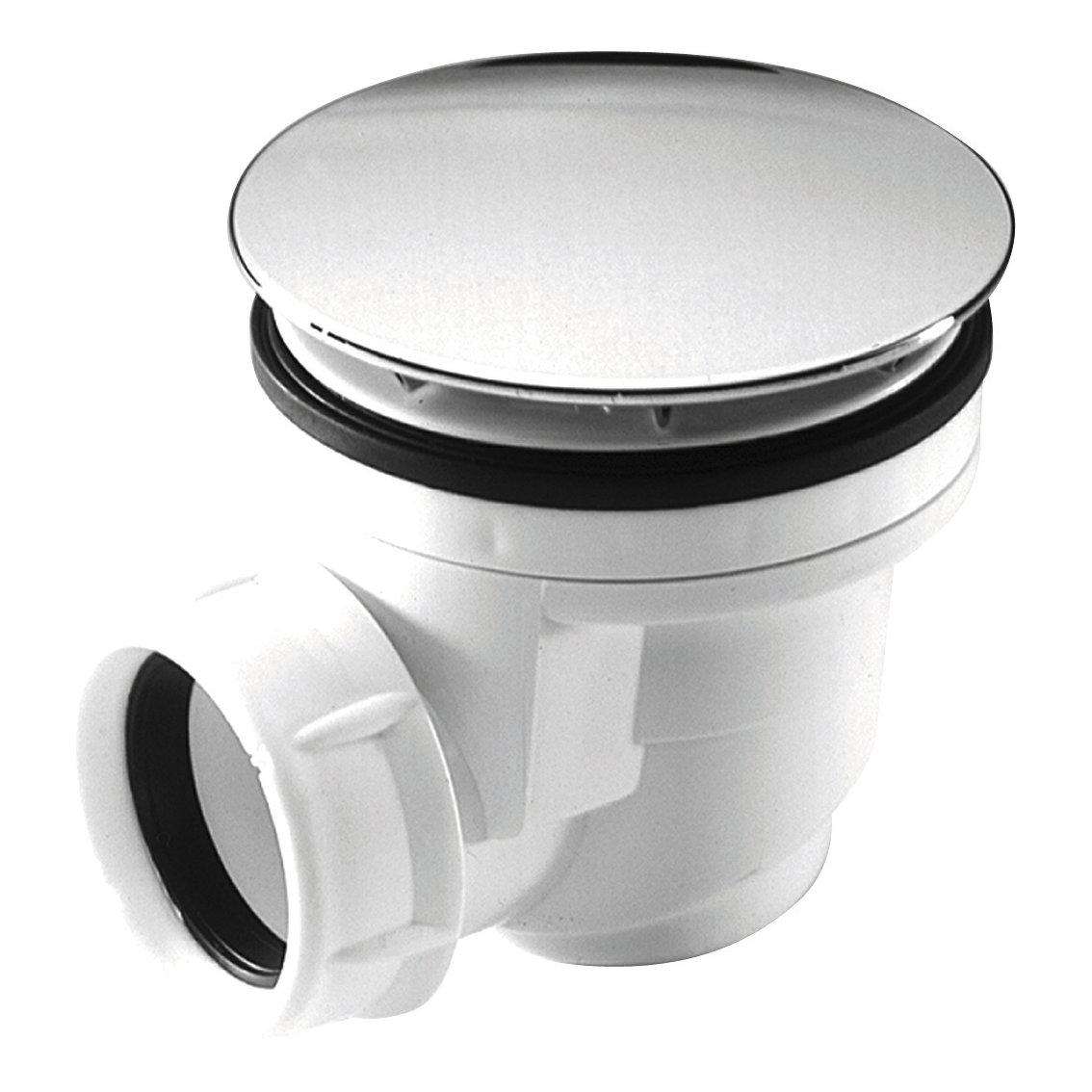 Bonde receveur de douche plastique standard 60 nicoll for Bonde receveur de douche