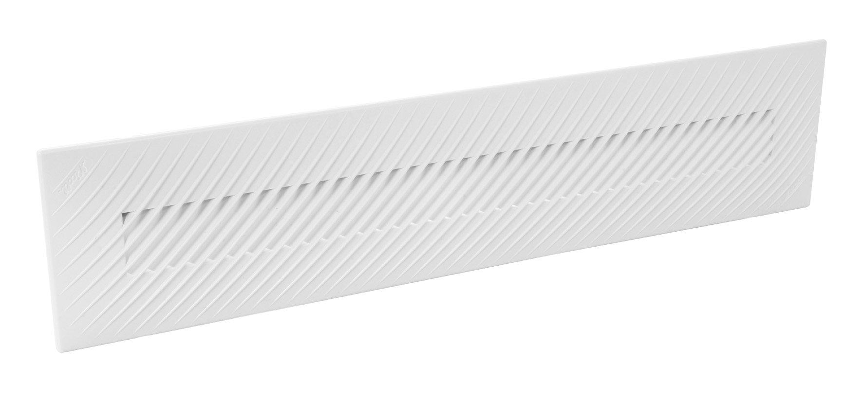 Grille de ventilation avec moustiquaire nicoll for Porte avec grille de ventilation