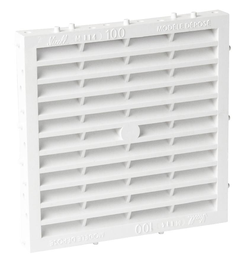 grille de ventilation sp cial fa ade sceller combinaisons avec moustiquaire nicoll. Black Bedroom Furniture Sets. Home Design Ideas