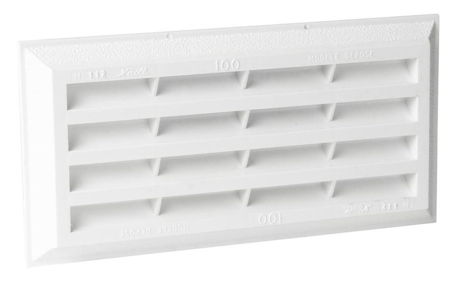 grille de ventilation sceller classique avec. Black Bedroom Furniture Sets. Home Design Ideas