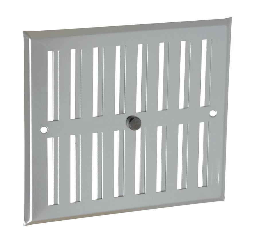 Grille de ventilation aluminium visser fermeture - Grille de ventilation exterieure aluminium ...