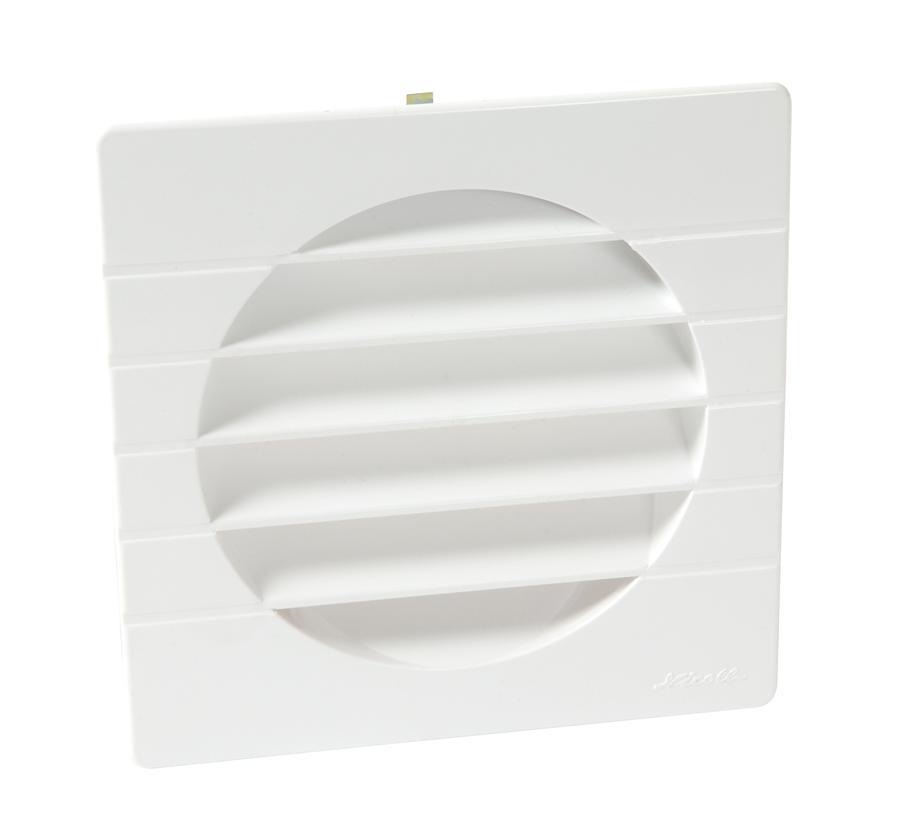 Grille de ventilation sp cial fa ade pour tubes pvc nicoll - Grille aeration fenetre pvc obligatoire ...