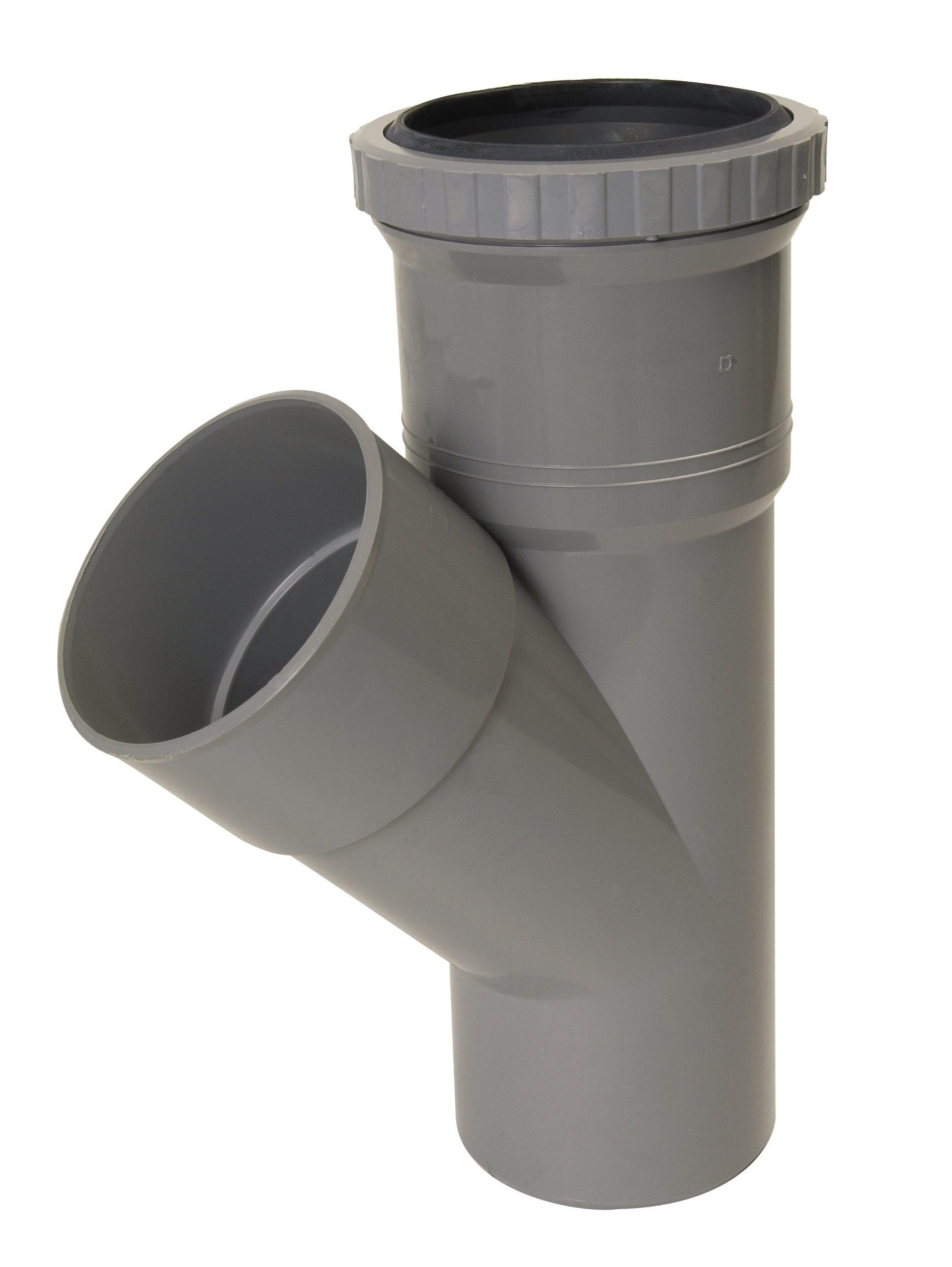 COUDE PVC 87°30 MALE FEMELLE 32 40 50 RACCORD JONCTION TUBE EAUX USEE EVACUATION