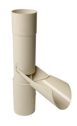 r cup rateur ep pour tube de descente cylindrique 80 nicoll. Black Bedroom Furniture Sets. Home Design Ideas