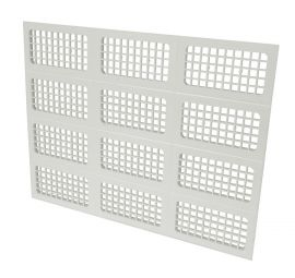 "GRILLE MENUISERIE VENT""X"" 600"