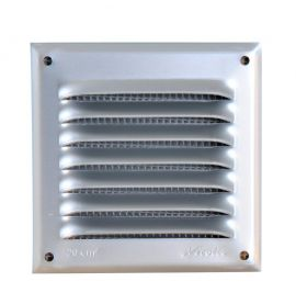 GRILLE PERSIENNE ALU GRIS MOUST.10X10