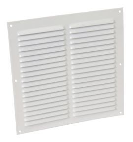 GRILLE PERSIENNE ALU BLANC MOUS.20X20