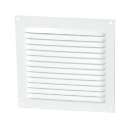 GRILLE PERSIENNE ALU BLANC MOUS.15X15