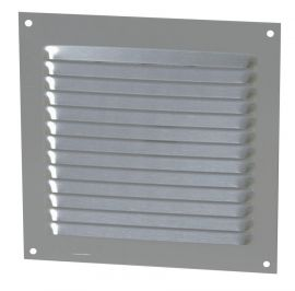 GRILLE PERSIENNE ALU GRIS MOUST.15X15