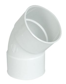 COUDE FF 45' D.100 BLANC