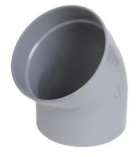 nicoll cj4 m/âle // femelle 45 degr/és coude pvc diam/ètre 50 mm