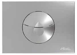 381-PLAQUE 2V 146X205 B.GOUT CHROME VEL