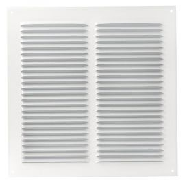 GRILLE PERSIENNE ALU BLANC MOUS.30X30