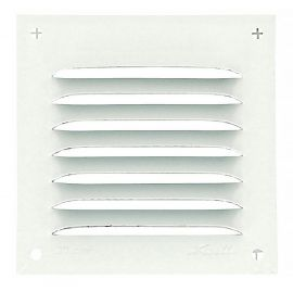 GRILLE PERSIENNE ALU BLANC MOUS.10X10
