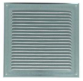 GRILLE PERSIENNE ALU BLANC MOUS.25X25
